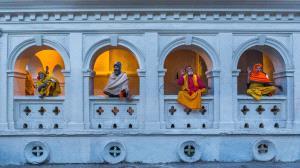 PhotoVivo Honor Mention - Desheng Xu (China)  Ascetic Monk