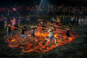 EGIPC Merit Award - Xiaohui Qiu (China)  Overleap The Bonfire