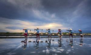 EGIPC Gold Medal - Huifen Wang (China)  Busy Salt Fields 3