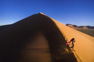 EGIPC Merit Award - Xiaoyun Qi (China)  Walking On Sahara