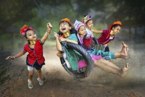 EGIPC Merit Award - Arnaldo Paulo Che (Hong Kong)  Happy Kids