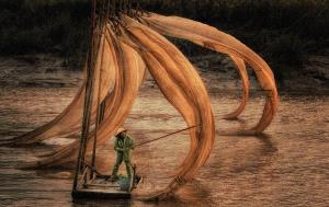 PSA Gold Medal - Lee Eng Tan (Singapore) <br /> Xiapu Fishing Net