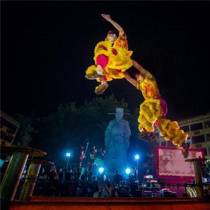 PhotoVivo Honor Mention - Youliang Wu (China) <br /> Throw Jump