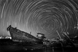 APAS Silver Medal - Junlin Tang (China)  A Broken Boat Under The Starry Sky