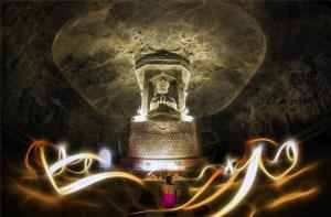 EGIPC Merit Award - Chengle Zheng (China)  Buddha Light