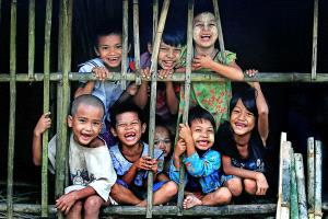 APAS Honor Mention - Zaw Min (Myanmar) <br /> Happy Kids