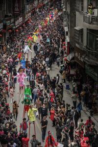 EGIPC Merit Award - Honghui Li (China) <br /> Stilts Story Lantern Festival