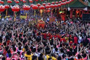 PhotoVivo Honor Mention - Lek Kah Meng (Malaysia)  Gods Parade