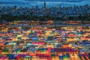 EGIPC Gold Medal - Liak Song Teo (Malaysia)  Colourful Market