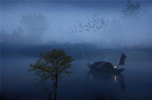 APAS Honor Mention - Peiwang Huang (China) <br /> Singing Fish Late