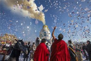 PhotoVivo Gold Medal - Shiliang Liu (China) <br /> Buddhist Service